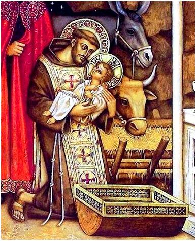 Risultati immagini per san francesco presepe
